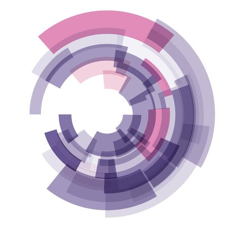 Fondo tecnológico ultravioleta abstracto. Ilustración vectorial Foto de archivo - 94659514