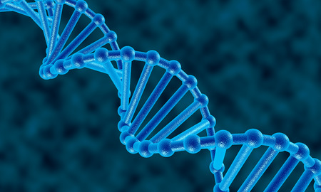 alternating organic: It is a dna molecule abstract background. Stock Photo