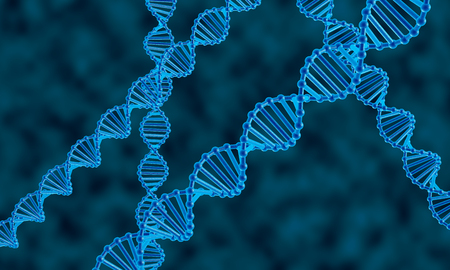 It is a dna molecule abstract background. photo