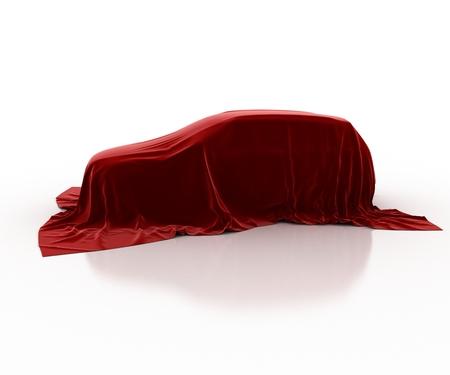 velvet: car covered with velvet
