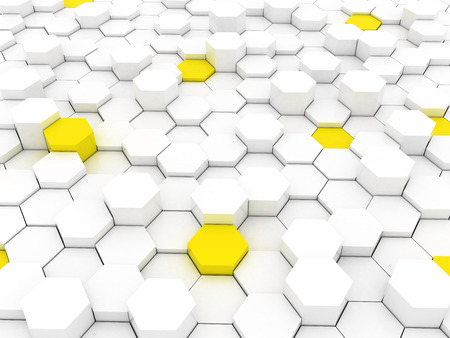 pattern of polygons Stock Photo