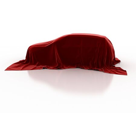 obscurity: car covered with velvet