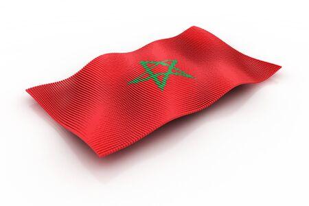 morocco: flag of Morocco