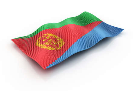 eritrea: flag of eritrea