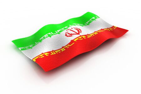 consists: the flag of Iran consists of cubes