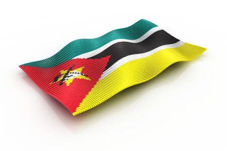mozambique: The Flag Of Mozambique