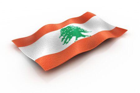 lebanon: flag of Lebanon