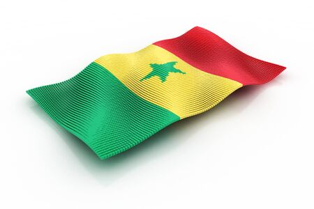 senegal: flag of Senegal