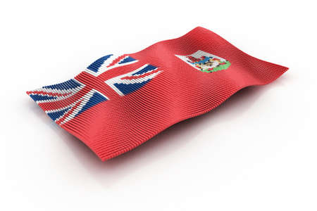 hamilton: flag of Bermuda