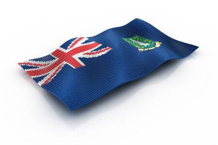 virgin islands: the flag of British virgin Islands
