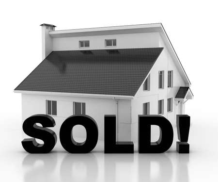 property: property for sale Stock Photo