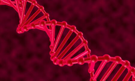 dna chain: DNA chain Stock Photo
