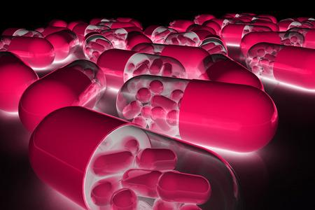 medications: pills, medications, SUPPLEMENTS Stock Photo
