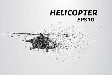rotor: The helicopter of the particles. The helicopter disintegrated into tiny molecules.