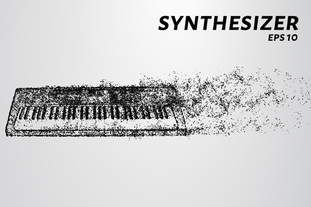 The synthesizer of the particles. The synthesizer consists of circles and points.