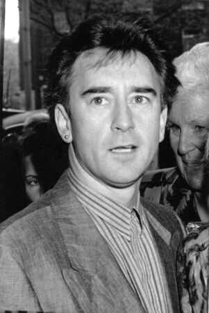 lawson: London, England - April 20, 1989 - Denis Lawson, Scottish actor, attends a celebrity event. Editorial