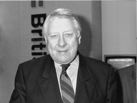 deputy: Brighton, England - October 1, 1991 - Roy Hattersley, Deputy Leader of the Labour Party, attends their annual conference.