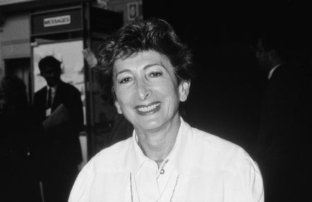 erhaltend: Blackpool, England - Besuche 10 Oktober 1989 - Dame Shirley Porter, F�hrer der Westminster City Council, die Konservativen Partei-Konferenz. Editorial