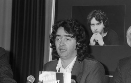 bombings: London, England - June 11, 1990 - Gerry Conlon, one of the Guildford Four wrongly convicted of the Guildford pub bombings, holds a press conference.