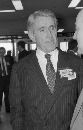 ambassador: Brighton, England - October 5, 1989 - Henry Catto, U.S. Ambassador to Britain, visits the Labour Party conference. Editorial