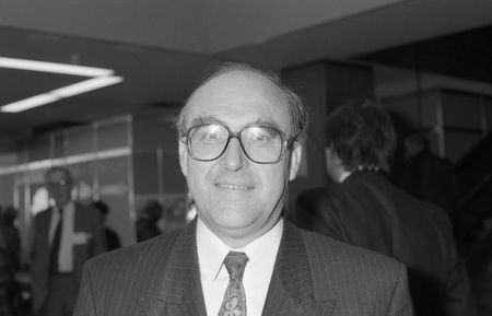 scottish parliament: Brighton, England - October 1, 1991 - John Smith, Leader of the Labour Party, visits the party conference. Editorial
