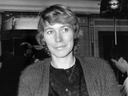 lancashire: Blackpool, England - October 10, 1989 - Virginia Bottomley, Conservative party politician, visits the party conference.