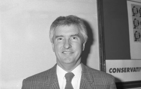 deputy: London, England - December 1, 1990 - John Maples, Conservative party Member of Parliament for Lewisham West, attends a conference. He later became Deputy Chairman of the party. Editorial