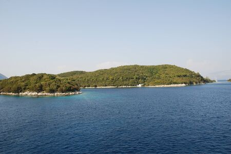 family owned: The Greek island of Skorpios owned by the famous Onassis family.