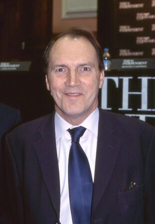 London, England - February 23, 2006 - Simon Hughes, Liberal Democrat Member of Parliament for Bermondsey and Old Southwark, attends a party leadership debate.  Stock Photo - 12257601