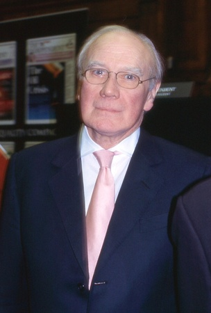 scottish parliament: London, England - February 23, 2006 - Sir Menzies Campbell, Liberal Democrat Member of Parliament for Fife North East, attends a party leadership debate. He became Leader in March 2006. Editorial