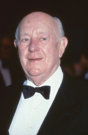 London, England - September 1991 - Sir Alec Guinness, veteran British actor, attends a celebrity event. He died in August 2000.