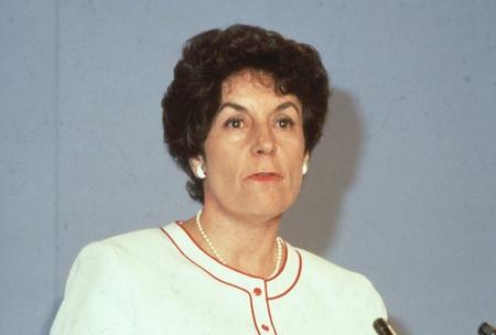 shephard: Londra, Inghilterra - 27 giugno 1991 - Gillian Shephard, Vice Presidente del partito conservatore e membro del Parlamento per South West Norfolk, partecipa a una conferenza del partito. Editoriali