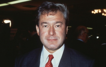 newham: Brighton, England - October 1, 1991 - Tony Banks, Labour party Member of Parliament for Newham North West, attends the party conference. He died in January 2006.