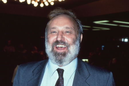 frank: Brighton, England - October 1, 1991 - Frank Dobson, Labour party Member of Parliament for Holborn and St.Pancras, attends the party conference.
