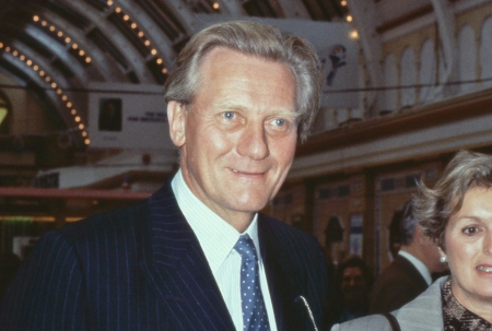 deputy: Blackpool, England - October 10, 1989 - Rt.Hon. Michael Heseltine, Conservative party Member of Parliament for Henley, attends the party conference. In 1995 he became Deputy Prime Minister of Britain.