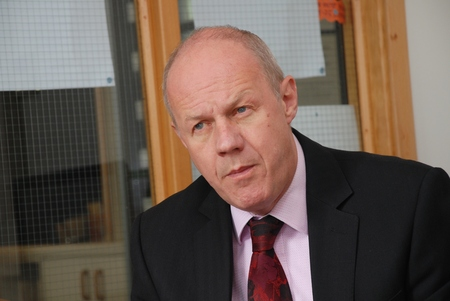 previously: Tenterden, England - September 17, 2013 - Rt Hon  Damian Green, Minister of State for Police and Criminal Justice and Conservative Member of Parliament for Ashford, attends a constituency meeting  He was previously Minister for Immigration  Editorial