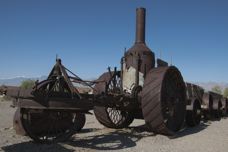 historical sites: Death Valley,Old Steam train,Historical Sites,,National Park, United States of America