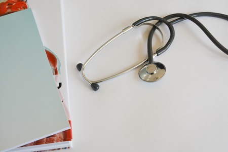Stethoscope, medicine, health Stock Photo