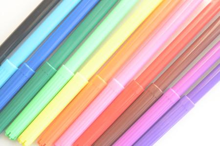 Colorido marcadores