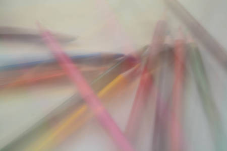 computer education: Abstract background, colorful pencils
