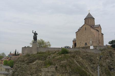 Christian monastery in Tbilisi, Georgia