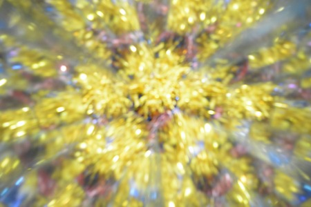 Abstract background, lights, colorful, red, white, gold
