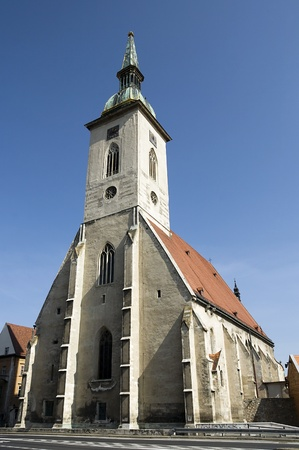 14th century: St. Martins Cathedral built in 14th century, in Bratislava, Capitol of Slovakia.