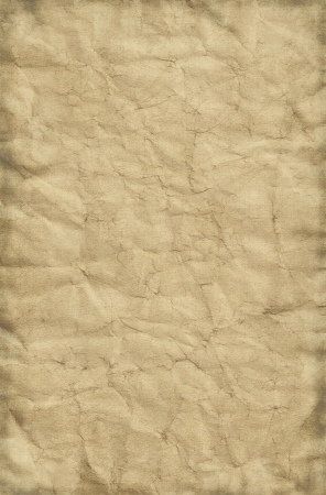 Old grungy and creased paper background