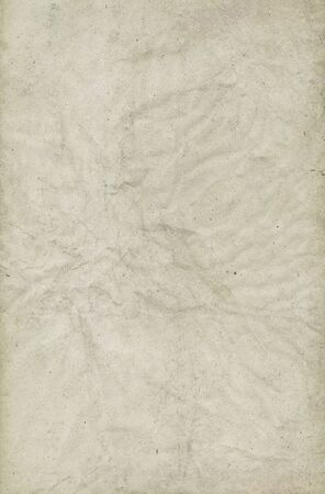 Creased old paper background.