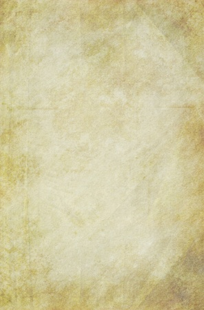 Old grungy paper background. Textured surface.