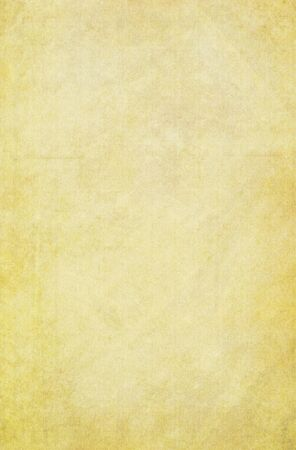 Yellow vintage paper background with detailed texture.
