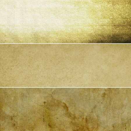 multiple stains: Collection of dark brown abstract vintage backgrounds. Various textures.