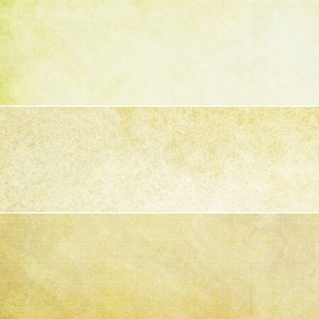 Collection of yellow abstract vintage backgrounds. Various textures.