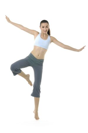 Photo of young woman exercising yoga Stock Photo - 11221887
